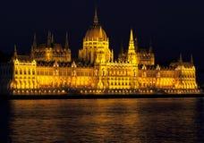 Het parlement van Boedapest Royalty-vrije Stock Foto's