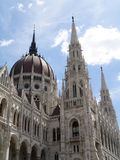 Het Parlement van Boedapest Stock Afbeelding
