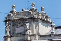 Het Parlement van Boedapest Stock Foto's