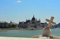 Het Parlement van Boedapest Stock Afbeeldingen