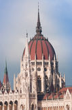 Het parlement van Boedapest delail Royalty-vrije Stock Fotografie