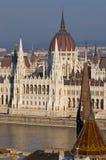 Het parlement van Boedapest, Hongarije Royalty-vrije Stock Fotografie
