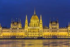 Het Parlement van Budapests Stock Foto