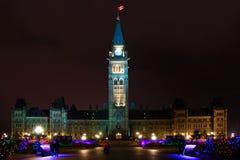 Het Parlement van Canada Royalty-vrije Stock Afbeelding