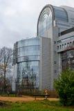 Het Parlement van de EU van Brussel Stock Afbeeldingen