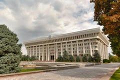 Het parlement van de Kyrgyz Republiek Stock Afbeeldingen