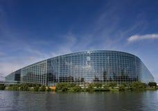 Het Parlement van Europa Stock Fotografie