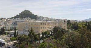 Het Parlement van Griekenland royalty-vrije stock afbeelding