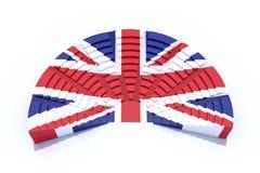 Het parlement van het Verenigd Koninkrijk Stock Foto's