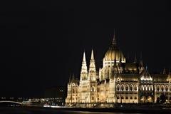 Het parlement van Hongarije Stock Fotografie