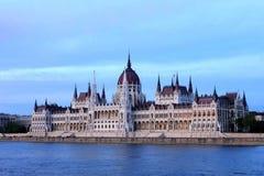 Het Parlement van Hongarije, Boedapest Stock Afbeelding