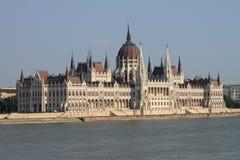 Het Parlement van Hongarije in Boedapest Stock Fotografie