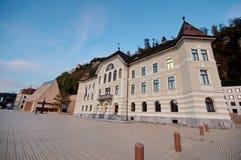 Het Parlement van Liechtenstein Stock Afbeeldingen