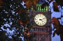 Het Parlement van Londen Stock Afbeeldingen