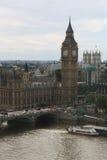 Het Parlement van Londen. De Big Ben. Stock Afbeelding