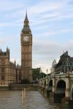 Het Parlement van Londen. De Big Ben. Stock Afbeeldingen