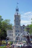 Het parlement van Quebec Stock Afbeeldingen