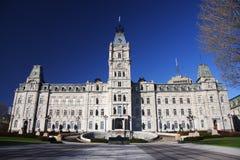 Het parlement van Quebec Stock Afbeelding