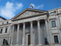 Het Parlement van Spanje stock foto's