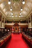 Het Parlement van Victoria BC Wetgevende vergaderingkamer Stock Fotografie