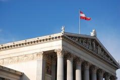 Het Parlement van Wenen Royalty-vrije Stock Foto's