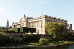 Het Parlement van Zweden Royalty-vrije Stock Fotografie