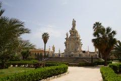 Het Parlement vierkant in Palermo, Italië royalty-vrije stock foto's