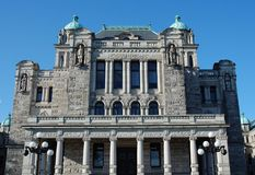 Het Parlementsgebouw in Victoria Royalty-vrije Stock Afbeeldingen