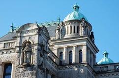 Het Parlementsgebouw in Victoria Stock Fotografie