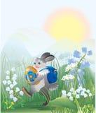 Het Pasen konijn Royalty-vrije Stock Afbeelding