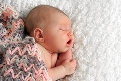 Het pasgeboren Meisje van de Baby Royalty-vrije Stock Afbeelding