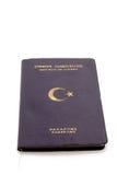 Het Paspoort van de Republiek Turkije Stock Afbeelding