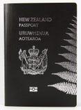 Het Paspoort van Nieuw Zeeland - Nieuwe stijl Royalty-vrije Stock Afbeeldingen