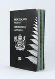 Het Paspoort van Nieuw Zeeland - Nieuwe stijl Stock Afbeelding