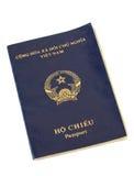 Het paspoort van Vietnam Stock Foto's