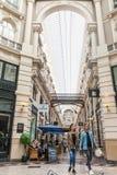 Het Passage het winkelen arcadebinnenland in Den Haag stock afbeelding