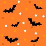 Het patroon/de achtergrond van Halloween Stock Fotografie