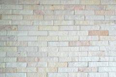 Het patroon de binnenlandse achtergrond van keramische steen van de tegelmuur royalty-vrije stock foto