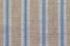Het patroon dichte omhooggaand van de strepenstof Royalty-vrije Stock Foto