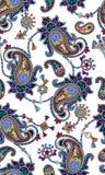 Het patroon die van Paisley uit juwelen en manierjuwelen bestaan Royalty-vrije Stock Foto