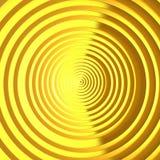 Het patroon heldere achtergrond van luxe gouden cirrcles vector illustratie