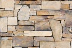 Het Patroon Muur van de achtergrond van de Rots royalty-vrije stock afbeeldingen