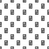 Het patroon naadloze vector van de wetenschapscalculator royalty-vrije illustratie