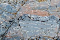 Het patroon op de steen royalty-vrije stock afbeeldingen