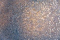 Het patroon op het glas Royalty-vrije Stock Foto's