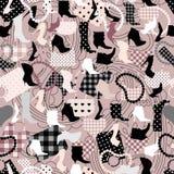 Het patroon van Acessories Stock Afbeeldingen