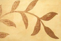 Het patroon van af:drukken op stof als achtergrond Stock Foto