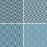 Het patroon van Amless argyle Royalty-vrije Stock Afbeeldingen