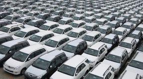 Het patroon van auto's Royalty-vrije Stock Afbeelding