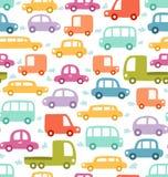 Het patroon van auto's Royalty-vrije Stock Fotografie